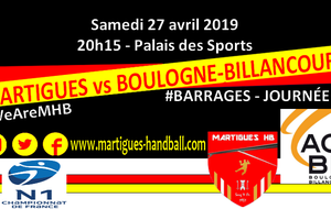 BARRAGES J7, MHB - ACBB : l'avant-match !